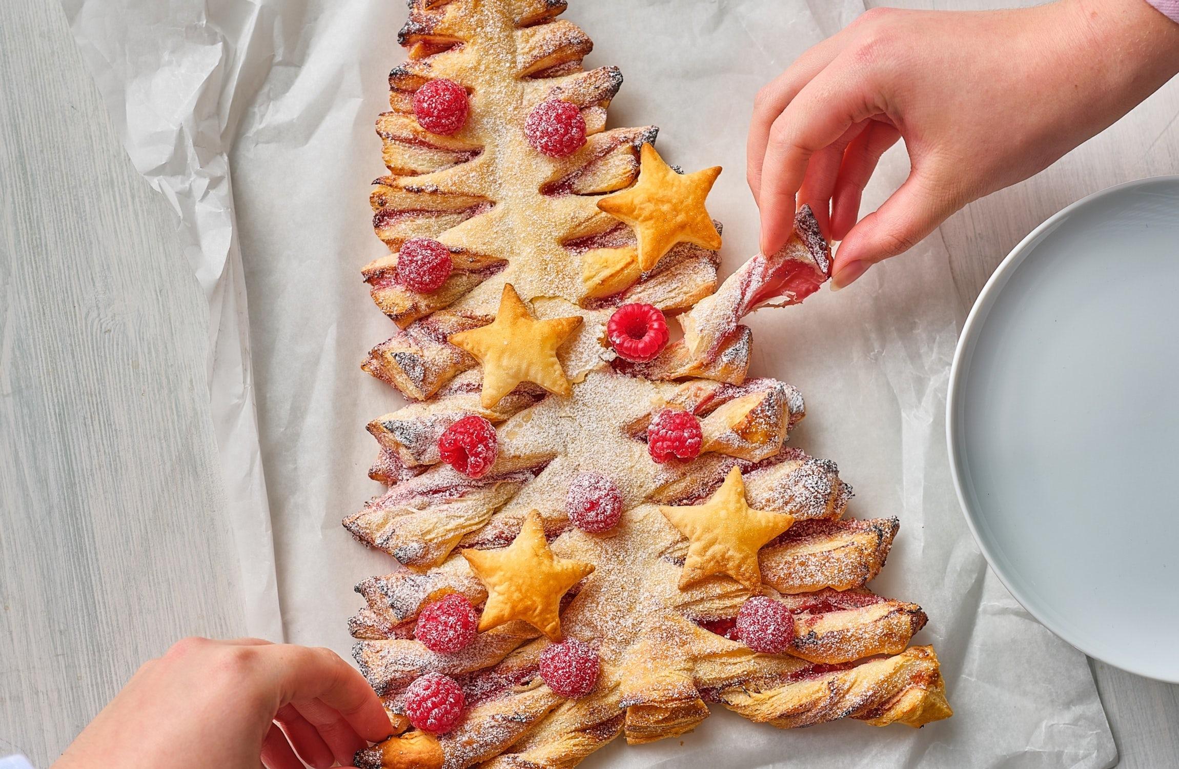 Tasty Pastry Christmas Tree