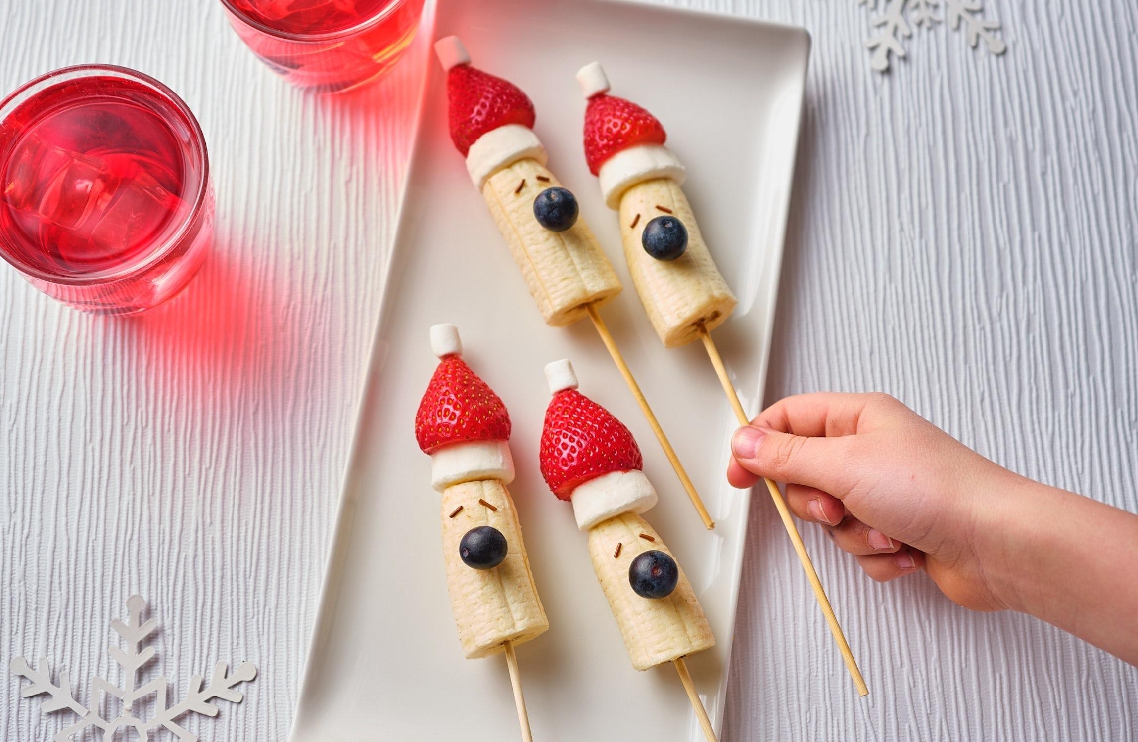 Strawberry Santa Sticks