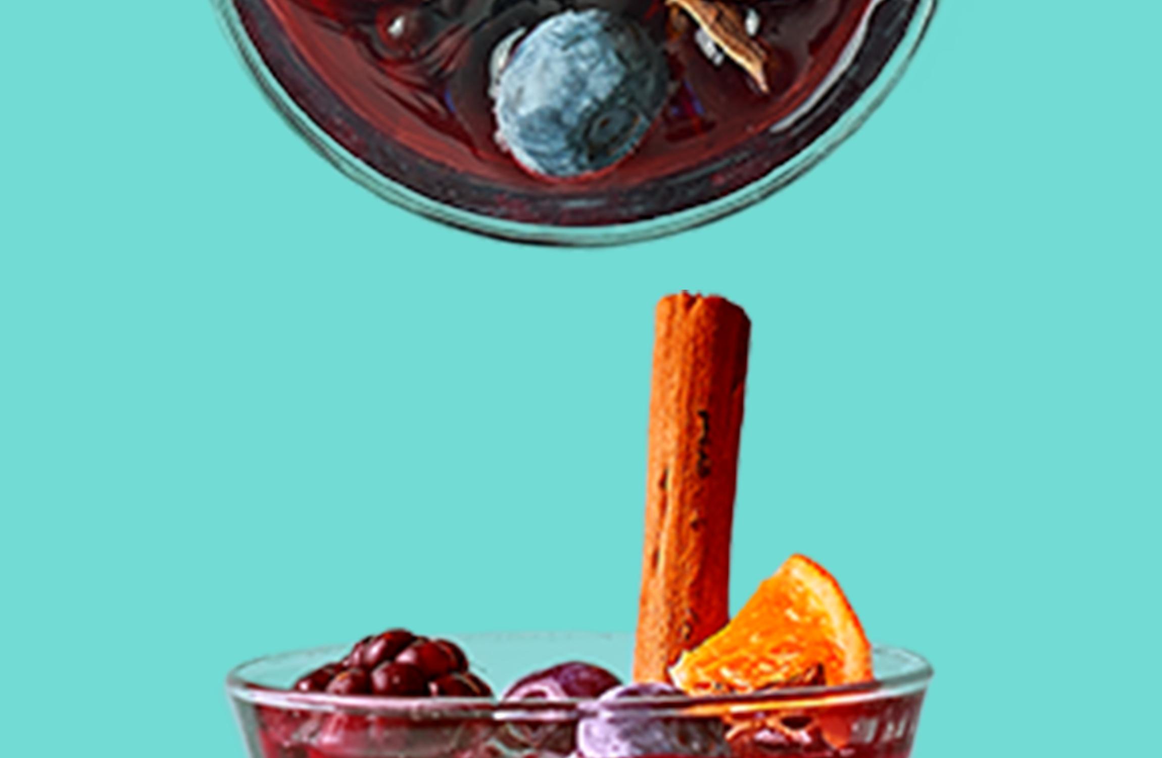 Berry Boozy & Merrily Mulled Wine
