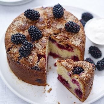 Blackberry Lemon Layer Cake