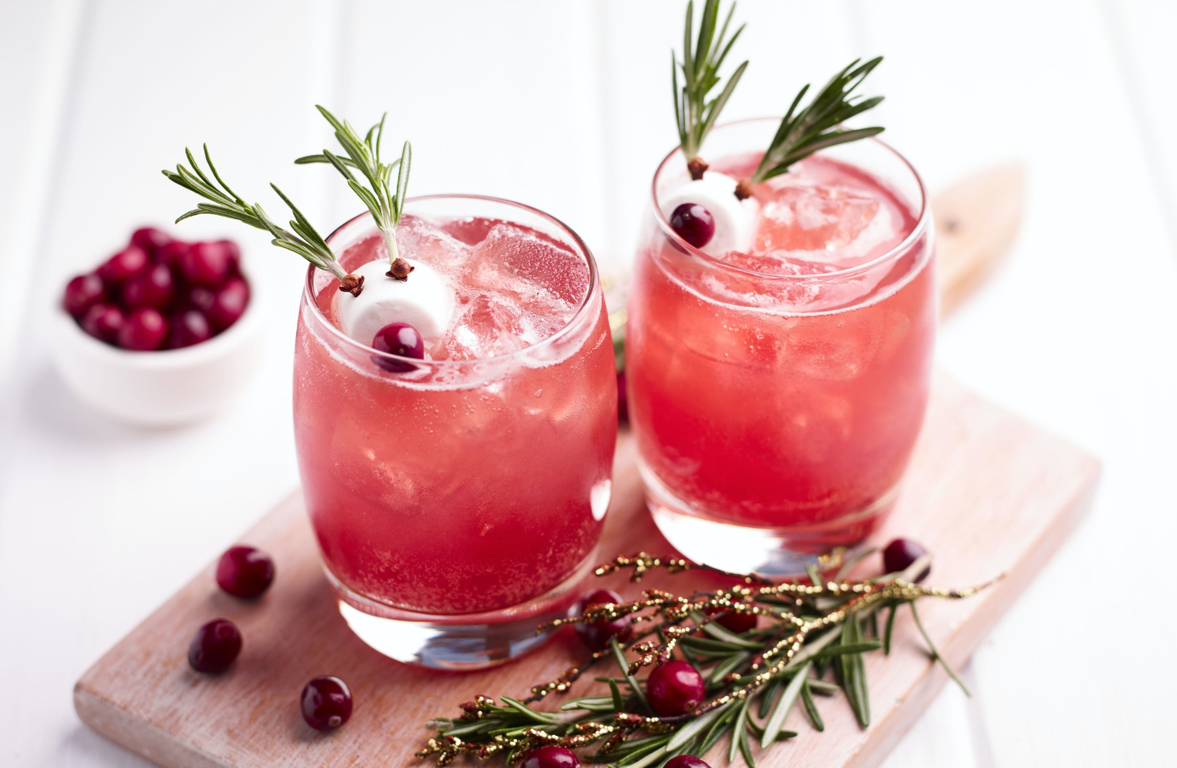 Rudolph's Cranberry Mocktail