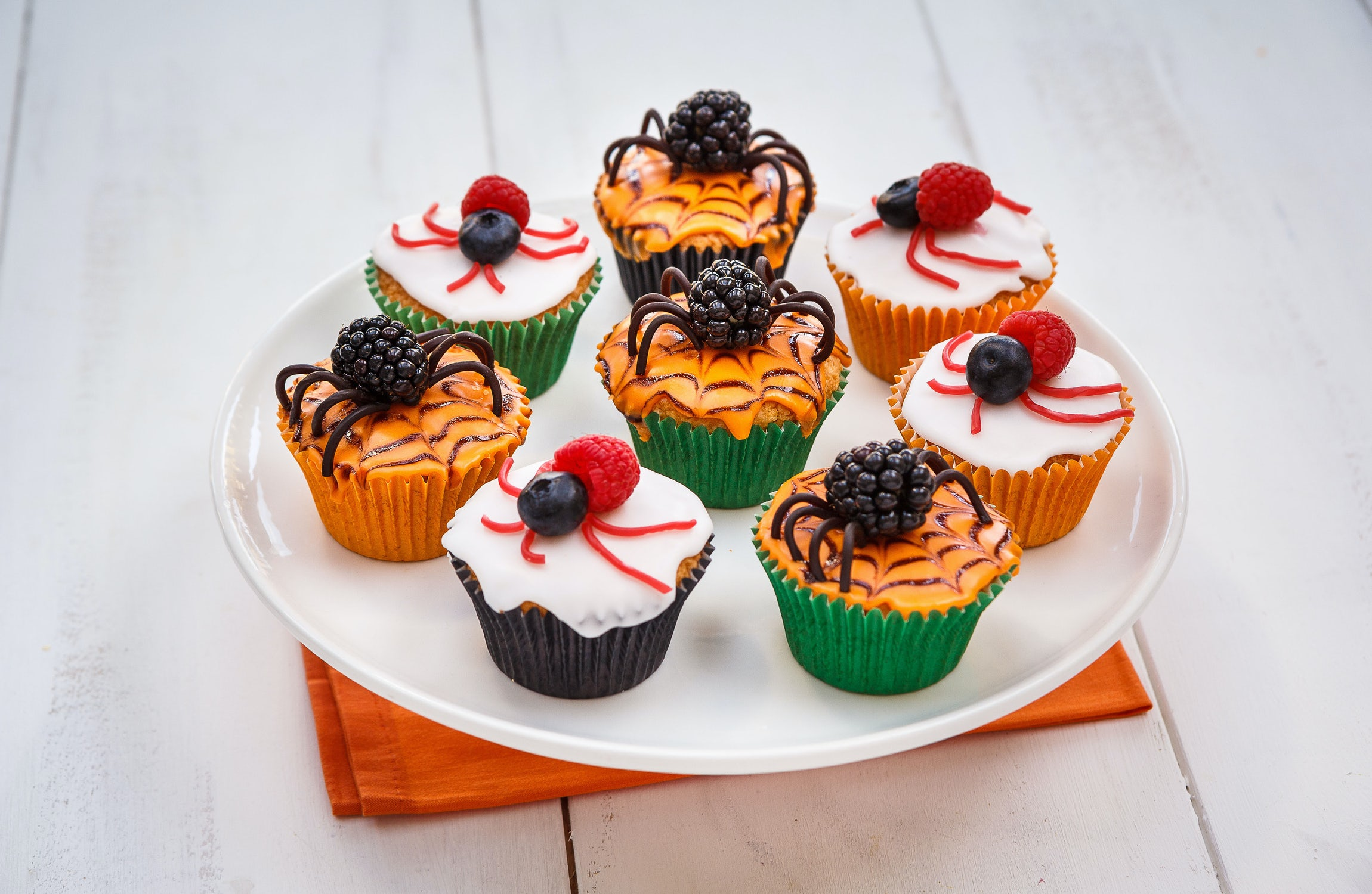 Berryworld Berry Spooky Halloween Cupcakes Recipe