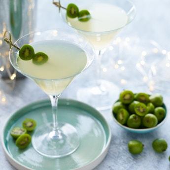 Kiwi Berry Martini