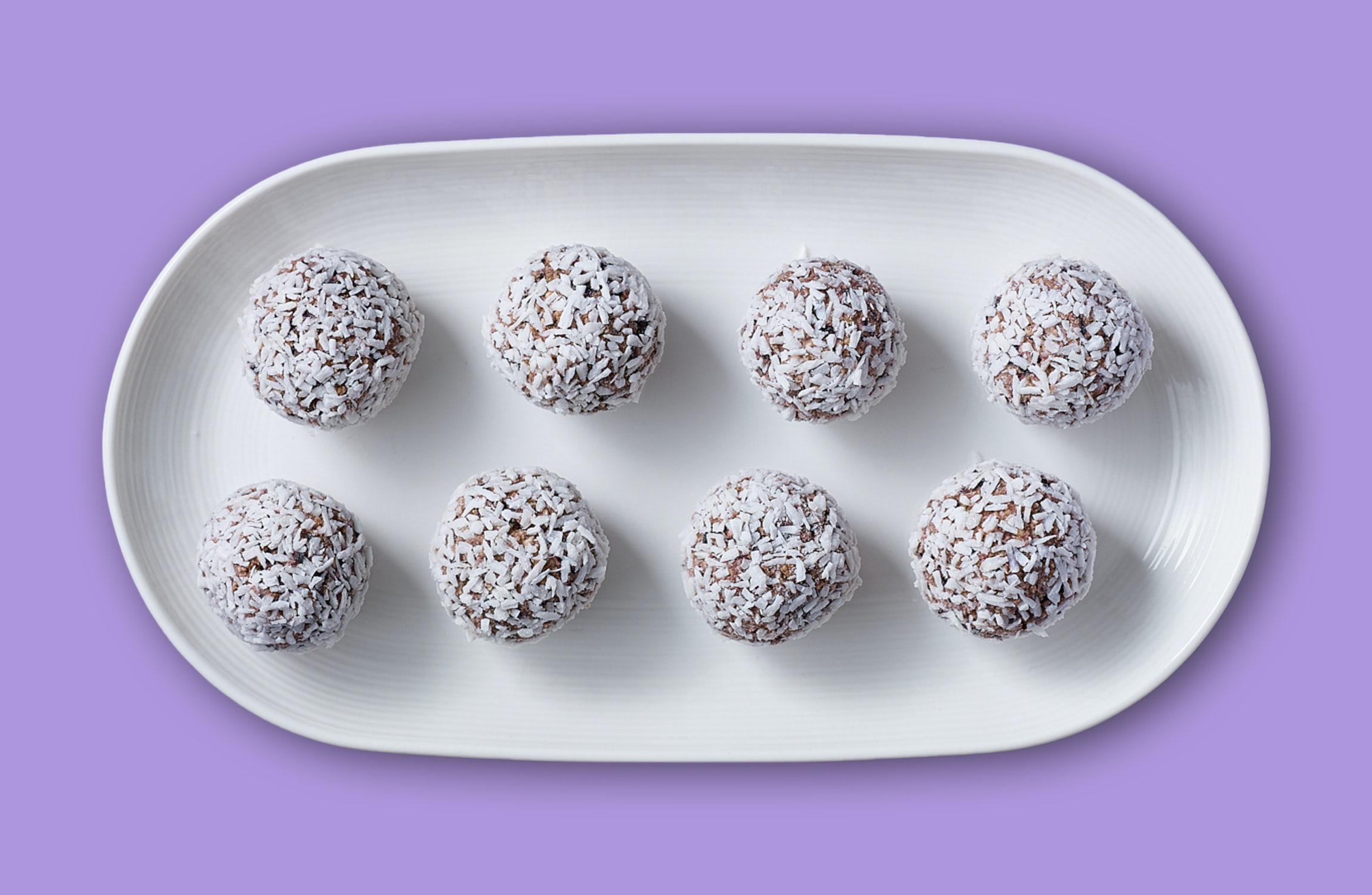 Blueberry Muffin Health Balls