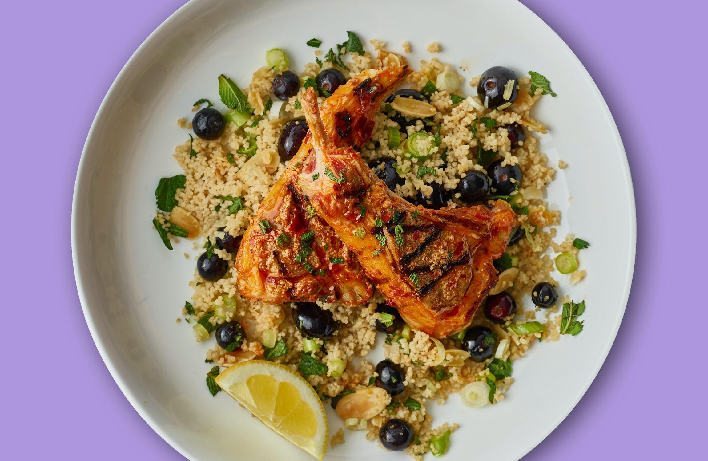 Harissa Lamb & Blueberry Burst Couscous