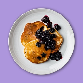Oatilicious Baked-in-Blueberry Pancakes