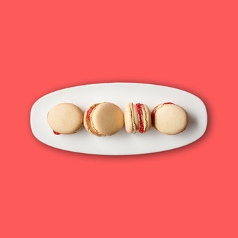Berry Nutty Macarons