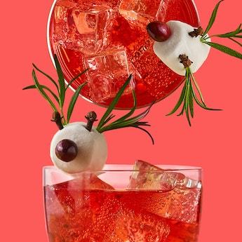 Rudolph's Alcoho-no-no Mocktail
