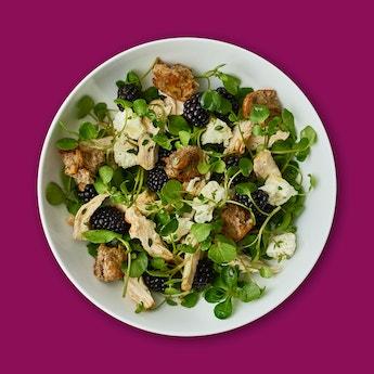 Oh my Goodness Blackberry & Chicken Salad