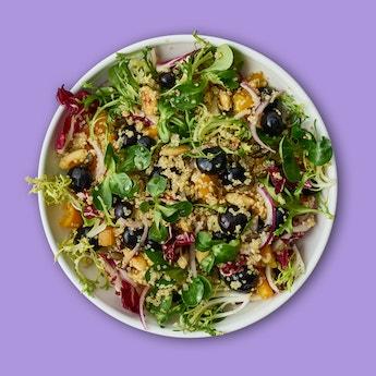 Oh my Goodness Quinoa & Blueberry Salad