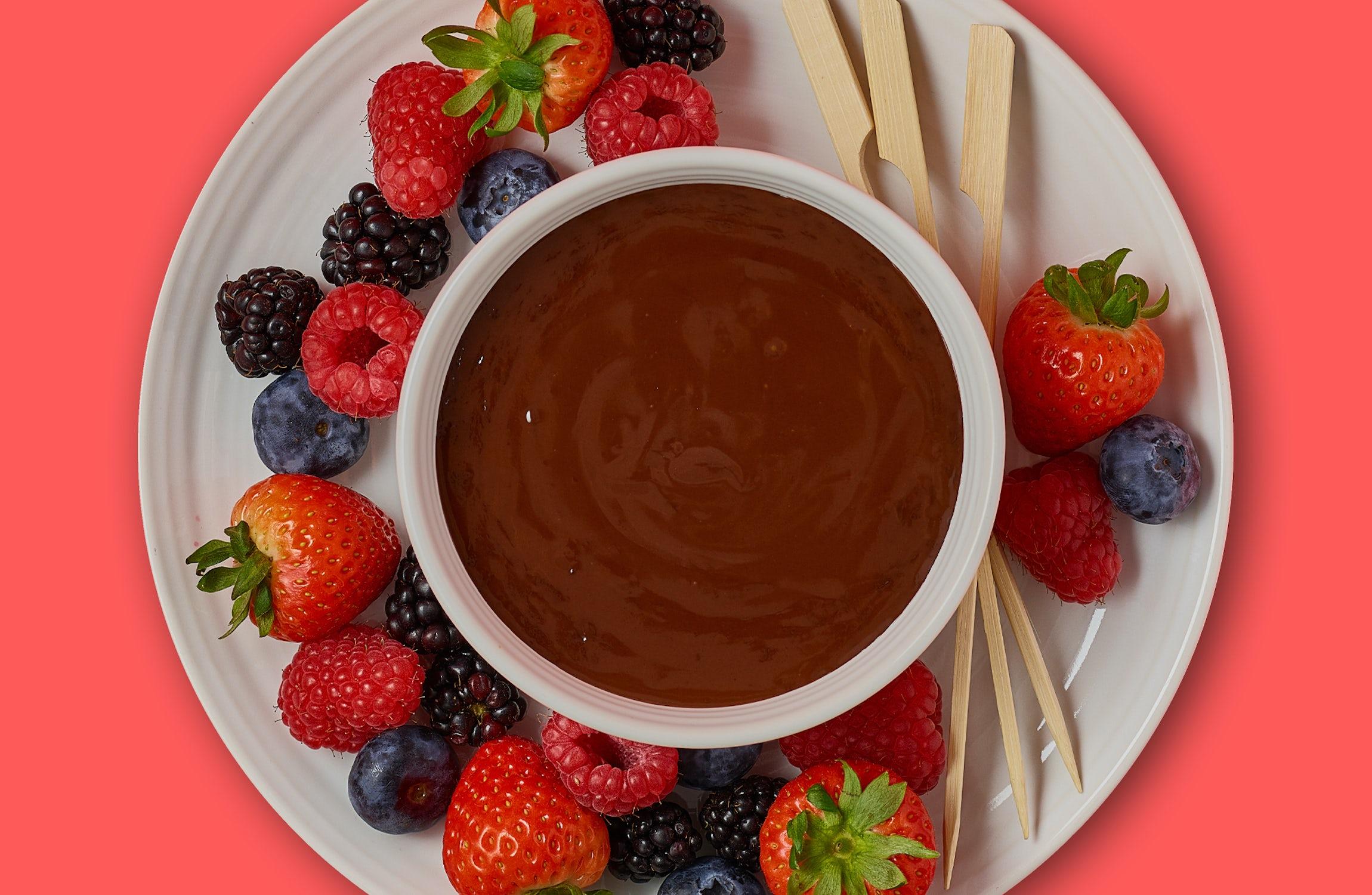 Berry True Chocolate Fondue