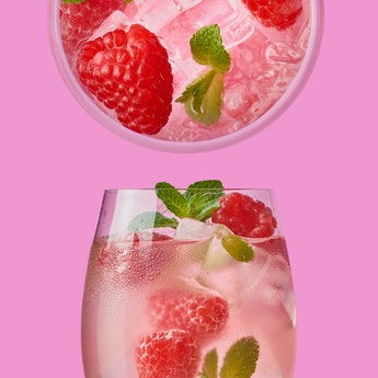 Thank Goodness Refreshing Raspberry Spritzer