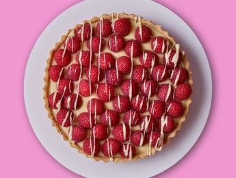 Picture of Raspberry Crowned Chocolate Tart