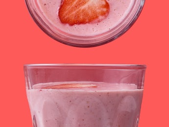 Picture of Go Nuts, Go Bananas, Strawberry Smoothie