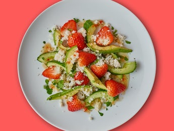 Picture of Pinch of Goodness Crab & Avocado Salad