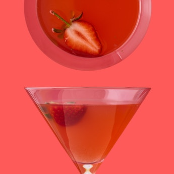 Thank Goodness Strawberry Daiquiri