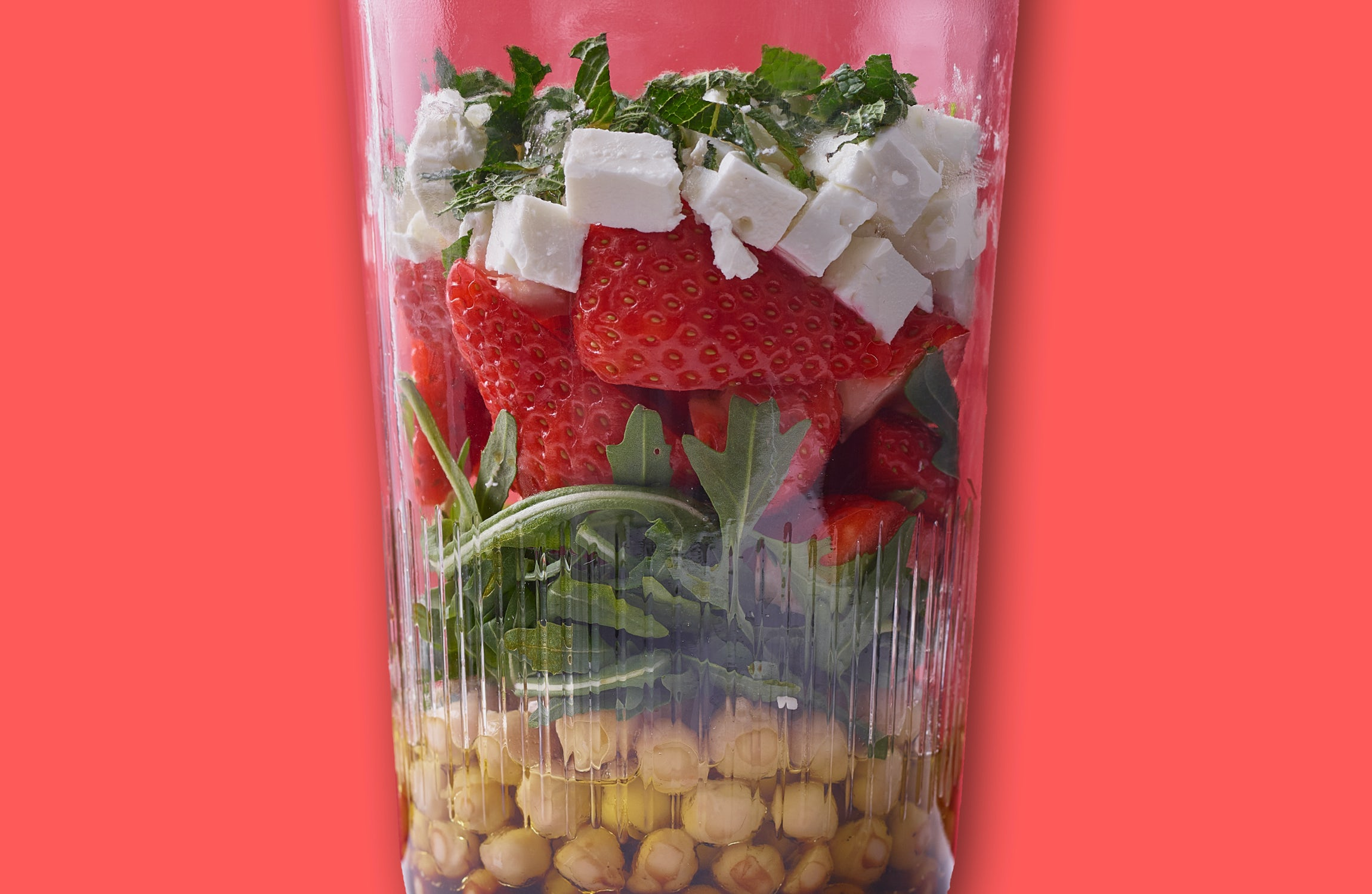 Goodness to Go Strawberry Salad