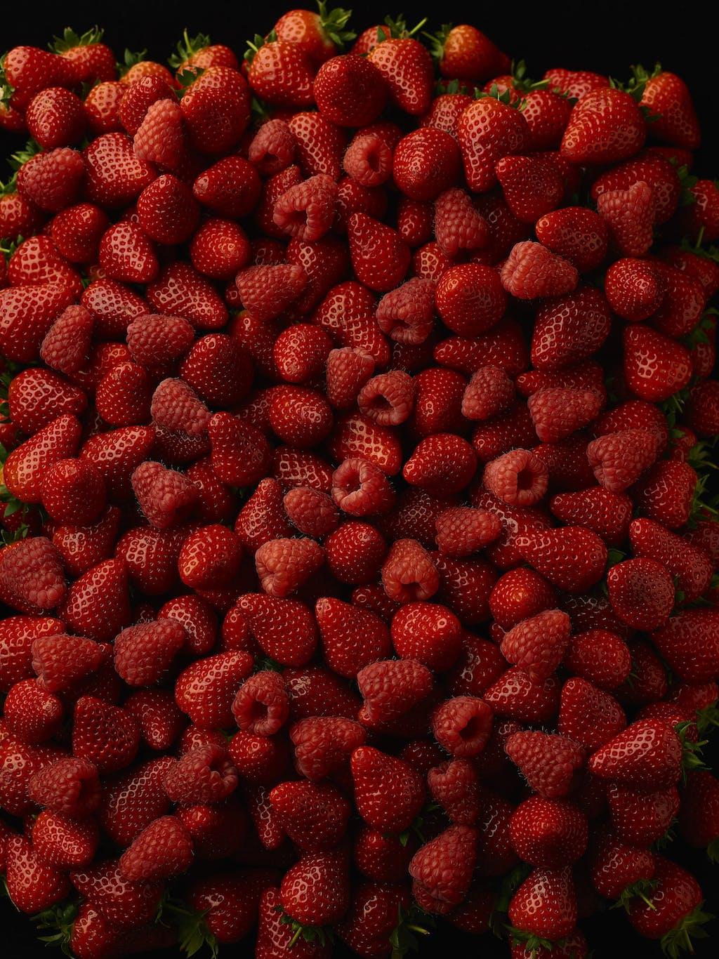 Strawberries raspberries master Custom
